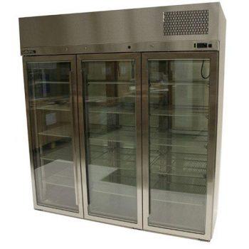 WILLIAMS HPS3GDSS Upright Triple Glass Door Display Fridge