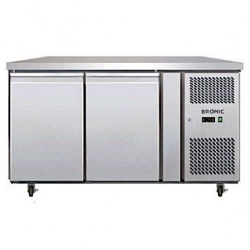 WILLIAMS HTU2SDSS Topaz Counter 2 Door Storage Refrigerator