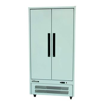 WILLIAMS HQ28SDCB 2 solid door upright storage fridge