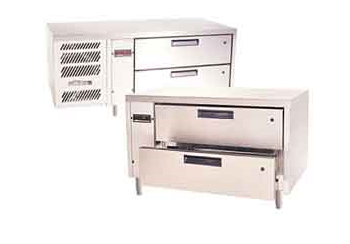 Chef Base Drawers Under Bar Refrigerated Commercial Restaurant Cafe Kitchens