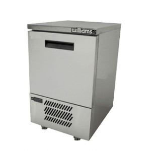 WILLIAMS LAZ1U Self Contained Aztra Solid Door Freezer