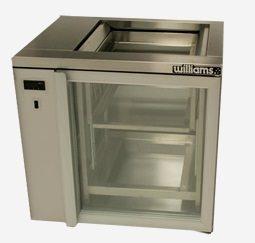 WILLIAMS GC1RGD Single Door Shelf Load Remote Glass Chiller